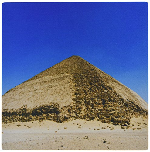 "3dRose Bent Pyramid Near Dashur, Unesco, Egypt, Africa Mouse Pad, 8"" x 8"" (mp_131467_1)"