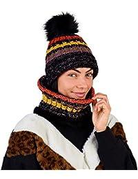 CityComfort Gorras Invierno Mujer Bufanda Invierno Calentador de Cuello  Accesorios de Ski Niña Mujeres 7361469a6c4