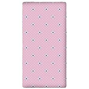 Disney Reine des Neiges 22210001 Drap Housse Coton Rose 90 x 190 cm