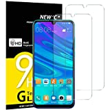 NEW'C Verre Trempé pour Huawei P Smart 2019 / Honor 10 Lite,[Pack de 2] Film Protection écran - Anti Rayures - sans Bulles d'air -Ultra Résistant (0,33mm HD Ultra Transparent) Dureté 9H Glass