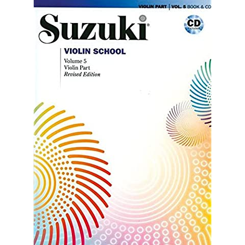 Suzuki Violin School, Vol 5: Violin Part, Book & CD (Suzuki Method Core Materials)