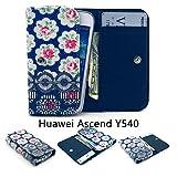 ZeWoo PU Leder Brieftasche für Huawei Ascend Y540 (4.5