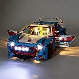 IAMXXYO Jeu De Lumières pour (Technic La Voiture De Rallye) Modèle en Blocs De Construction Kit De Lumière A LED Compatible avec Lego 42077 (Modèle Pas Inclus)