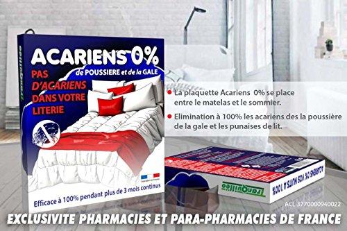 PLACA DE FALLOS Ropa de cama y Anti-Anti-ácaros 100% de eficiencia