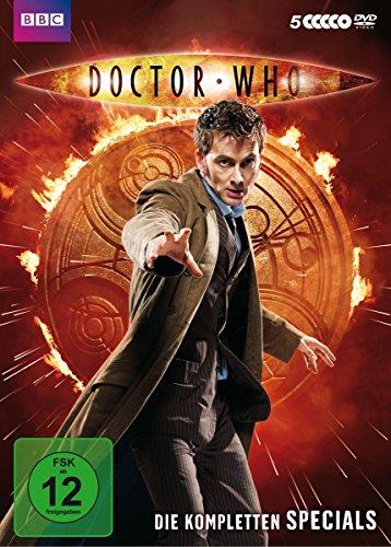 Doctor Who - Die kompletten Specials spielt zwischen Staffel 4 und 5 [5 DVDs]