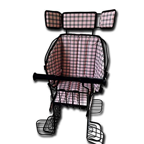 Joyfitness Fahrrad kindersitz kindersitz hinten verdickung Kissen Stuhl elektrische Fahrrad rücksitz,color1,35x35x55cm