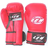 LEW Club Boxing Gloves Red - 14oz