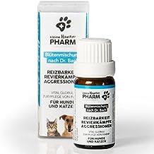 Paws & Patch Bachblüten Globuli für Hunde & Katzen I REIZBARKEIT REVIERKÄMPFE AGGRESSIONEN I Bei dominanten Tieren, die schwer zu führen sind, gereizt reagieren