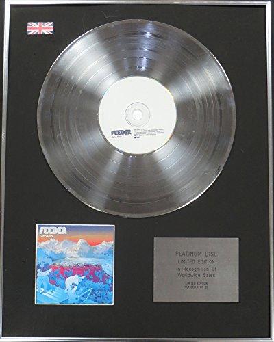 Feeder-Ltd EDTN CD platinum disc-Echo Park