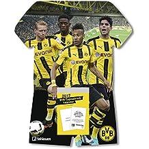 BVB Tagesabreißkalender 2018 - Fußballkalender Borussia Dortmund  -  24 x 30 cm