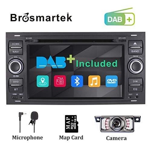 Sistema de radio estéreo para coche DAB+(integrado) para Ford Fiesta 2005 Kuga...