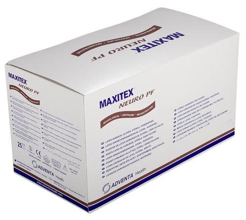 50 Paar Maxitex Neuro OP-Handschuhe - puderfrei - steril - Größe 6