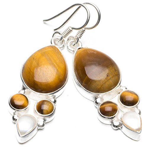 stargemstm-natural-tiger-eye-and-river-pearl-unique-punk-style-925-sterling-silver-earrings-2
