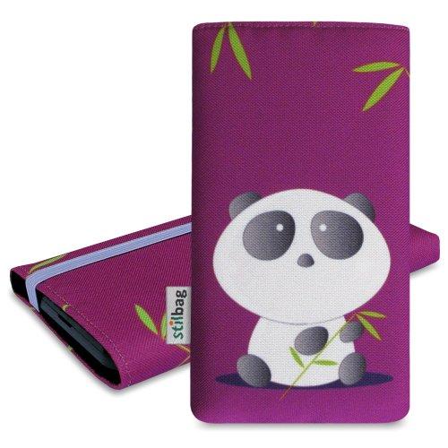 Stilbag Tasche 'MIKA' für Sony Xperia E3 - Design: Bamboo Panda