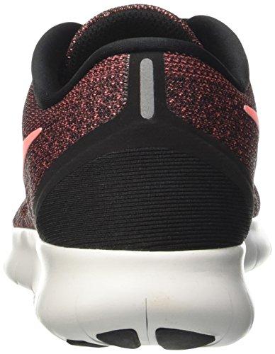 Nike Wmns Free Rn, Scarpe da Corsa Donna Multicolore (Black / Lava Glow / Off White)