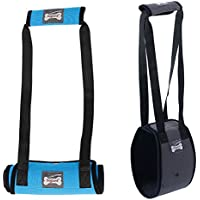 Dog Lift Support Harness with Handle for Older or Injuries weak hind Leg (Medium, Grey)