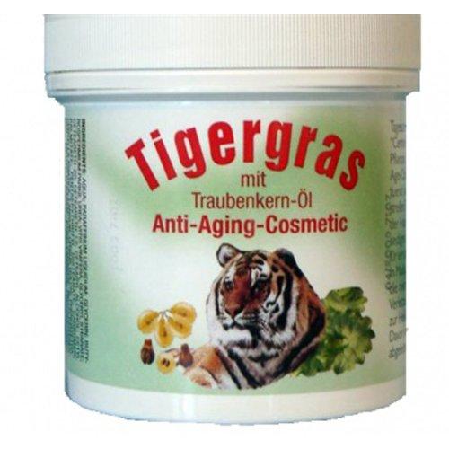 Alwag Tigergras Anti-Aging-Cosmetic - 250 ml Hautpflege Creme mit traubenkernöl - dermatologisch getestet