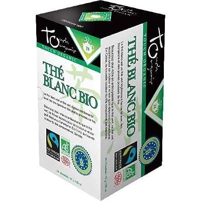 Touch Organic - Thés - Thé Blanc Bio - Contenance : 24 sachets