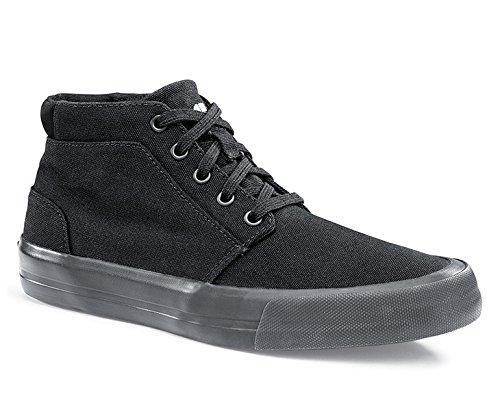 Schuhe für Crews 34702–41/7Style Cabbie II Damen Rutschfeste High Top Trainer, Größe 7, Schwarz