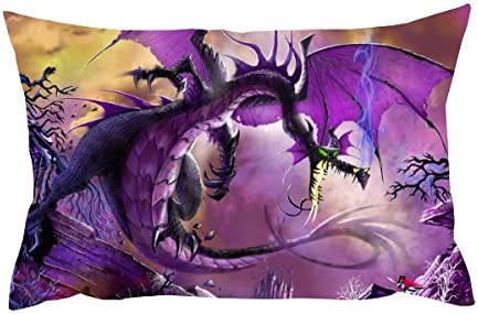 Artland 33 x 48,3 cm fine art cuscino – – – Dragons Gate 7c72a3