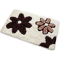 LIMISKY Felpudos básica para puerta Alta calidad Alfombrilla de suelo para interior ideal para entradas de cocinas balcón dormitorio baño 3 estilos