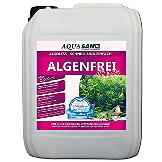 AQUASAN Algoless Algenfrei Plus 5.000 ml