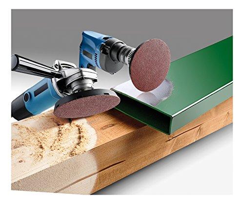 KWB Quick-Stick Schleifscheiben, Holz und Metall, selbsthaftend, Durchmesser 125 mm, 488-300