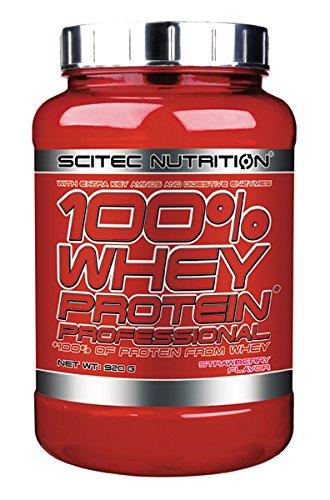 Scitec Nutrition 100% Whey Protein Professional protéine fraise 920 g