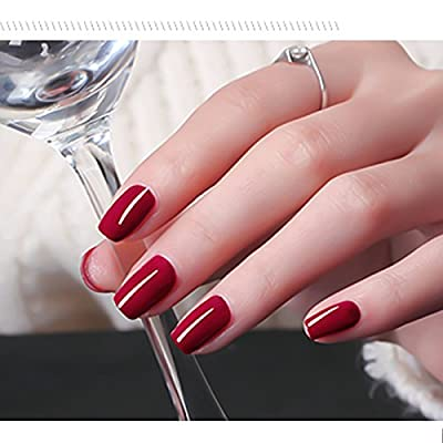 Perfect Summer UV Led Gel Nail Polish Color 10ml Soak Off Gel Manicure product Chinese Red Nail Art