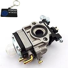 STODENER - Carburador de repuesto de 10 mm marca Walbroo WYK-186para motores de 26 cc y 33 cc de 2tiempos, motor Kragen, Zooma, Bladez, scooter a gasolina Goped Minimoto, cortadores de cuerda Shindaiwa T242X T242LE242, barrenadora de hielo Stingray S33Q8, Echo Carb A021000700A021000460