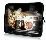 Luxburg® Design Laptoptasche Notebooktasche Sleeve für 14
