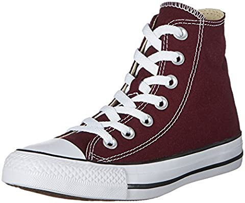 Converse 157610c, Chaussons montants mixte adulte - rouge - Rot (Dark Sangria),