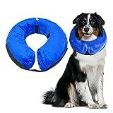 Dog Cone Inflatable Collar Protective Collar Pet Cone E-Collar Soft Pet Recovery Collar