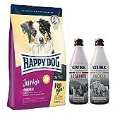 Happy Dog Junior Original 10 kg + 1 x TJURE Kleiner Racker + 1 x TJURE Treuer Gefährte