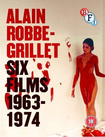 Bild von Alain Robbe-Grillet Collection 1963-1974 (6 Films) - 3-Disc Box Set ( L'immortelle / Trans-Europ-Express / L'homme qui ment / L'éden et après / N. a pris les dés… / Glissements pro [ UK Impo (Blu-Ray)