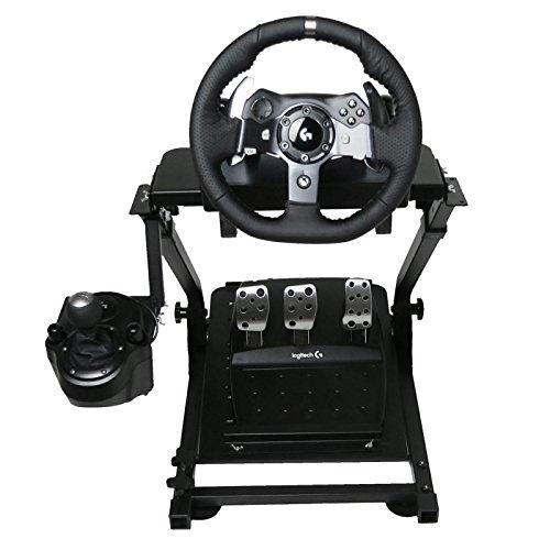OldFe G920 Steering Wheel Stand Per Logitech G27 G25 G29 E G920 Volante Con Supporto V2 Supporto Giochi Solo Supporto Ruota E Pedale Non Incluso