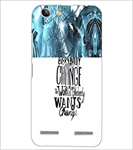PrintDhaba Quote D-4711 Back Case Cover for LENOVO VIBE K5 PLUS (Multi-Coloured)
