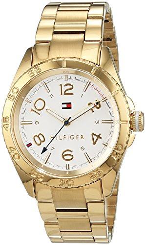 Tommy Hilfiger Damen-Armbanduhr Everyday Sport Analog Quarz Edelstahl beschichtet 1781638 (Damen Tommy Hilfiger Uhren)