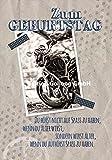 Glückwunschkarte ~ Motorrad ~ zum Geburtstag