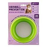Oh Bowl 48004 Anti-Hairball Fressnapf für Kätzchen, mit speziell konzipierten flachen Gummispitzen zur Erfassung von Losen Haaren auf der Zunge, Durchmesser: 15cm, pink