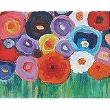 Blumenbild, Acryl, 24/30cm
