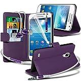Fone-Case Purple Samsung Galaxy S4 Mini Plus I9195I Hülle