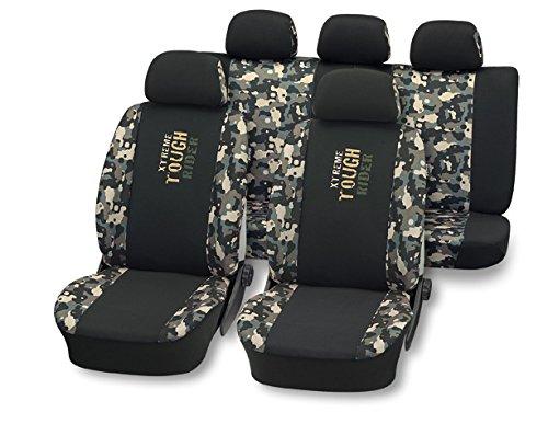 Sitzbezug Sitzbezüge XTREME TOUGH RIDER Schonbezug Sitzbezüge Schonbezüge Autositzbezug (Civic Sitzbezüge Auto Honda)
