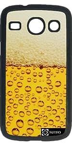 Hülle für Samsung Galaxy Core i8260/i8262 – Bierschaum - ref 38