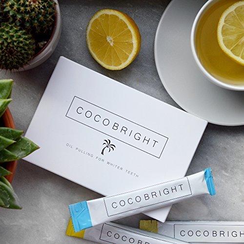 COCOBRIGHT | 14 Tage Oil Pulling Kokosnuss Öl Detox Kur – Pfefferminz Geschmack – Zahnöl - 2