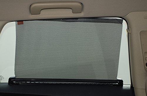Preisvergleich Produktbild Duschvorhang aufrollbar Lateral Semi Automatische 59x 53cm, 2Stück