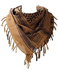 WODISON Army Military Shemagh Arab Desert Keffiyeh Scarf Wrap Tactical Style for Women and Men