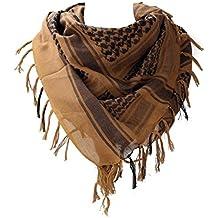 b48a368ee1c4 WODISON armée militaire Shemagh désert arabe Keffiyeh écharpe Wrap Tactical  Style pour les femmes ...