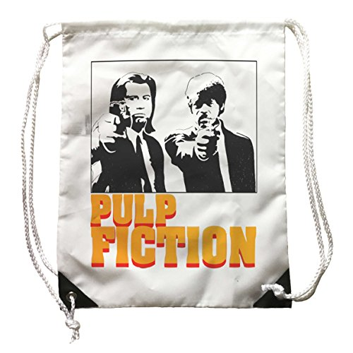 Doctor Music Shirt Daypack Pulp Fiction, Rucksack Kino Poster Film Vincent Vega, Quentin Tarantino