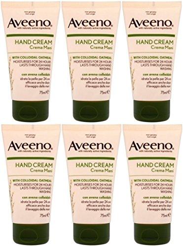 6-x-aveeno-hand-cream-with-colloidal-oatmeal-75ml